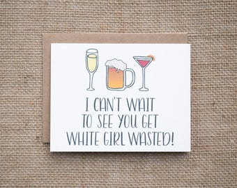 21st birthday card etsy 21st birthday card white girl wasted happy birthday lets party best seller bookmarktalkfo Image collections