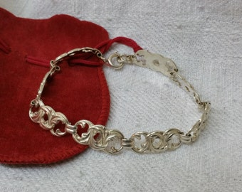 Old silver bracelet 50/60 years 835 SA212