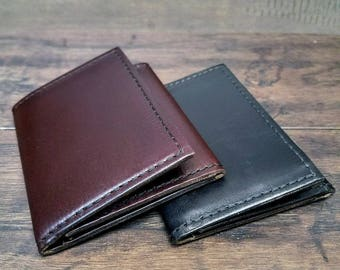 Custom build your own - Trifold Horween chromexcel leather wallet