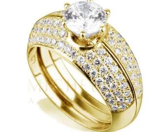 2 13 Carat Diamond Engagement Ring F VVS2 Princess Cut