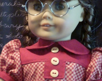 Historically Accourate American Girl Dress for Molly, Emily, others