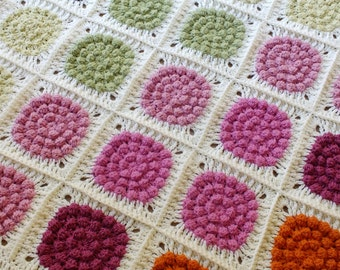 Alexa's Colourful Blanket - Instant Download PDF Crochet Pattern