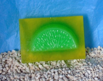 Lemon & Lime handmade soap bar