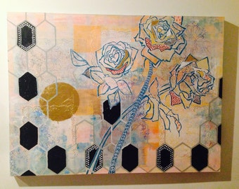 Sun and Three Roses