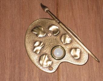 Artist Pallette Doorbell