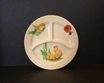 Canonsburg Child's Plate