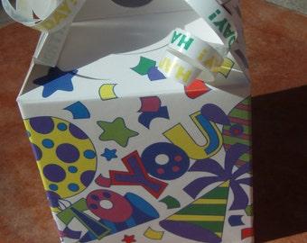 Organic Dog Treats - Mini Tote Birthday Gift Box- - Gourmet Dog Treats Vegetarian All Natural - Shorty's Gourmet Treats