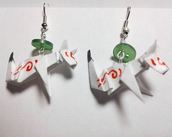 Origami Amateratsu Earrings