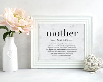 Personalized Gift for Mom, Mom Gift, Encouragement for Mother, Gift for Mom, Stepmom Birthday, Grandmother Gift, Mother In Law Gift, Quote