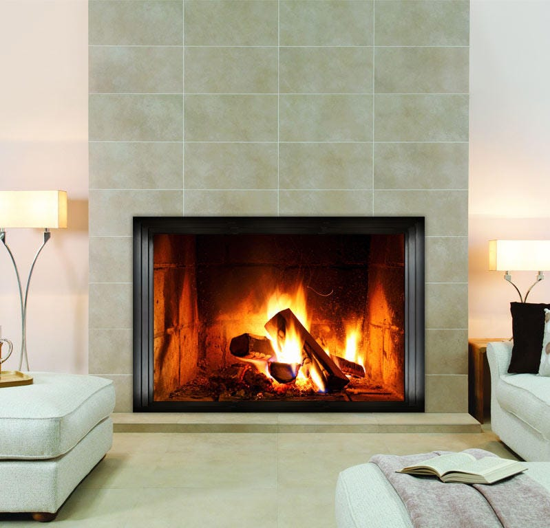 Fireplace Wall Sticker