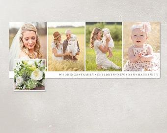 50% SALE Facebook timeline cover template photo collage photos digital PSD FC025