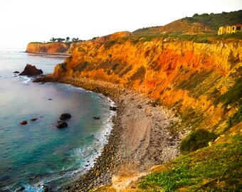 California Photography, Ocean Photography, 8x10 print, Palos Verdes, Terranea Resort, Los Angeles, Pacific, GBK's 2013 Emmys Gift Lounge