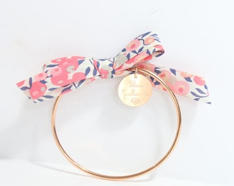 Bangle EMOCIONES Liberty print to order * custom Creation * rose gold