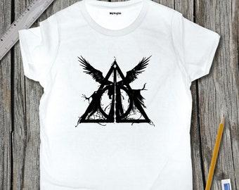 Deathly Hallows Sketch T-Shirt | SketchTee
