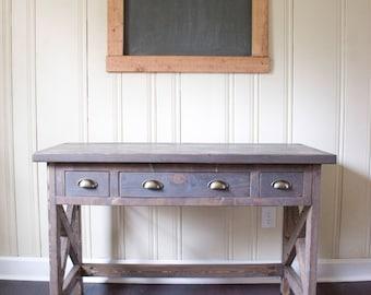 Custom Farmhouse Desk - Office Desk