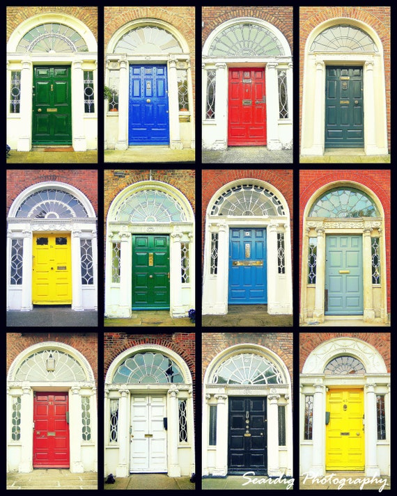 Dublin Doors Irish Doors. Georgian Doors.  sc 1 st  Etsy & Door Photography. Dublin Doors Irish Doors. Georgian Doors.