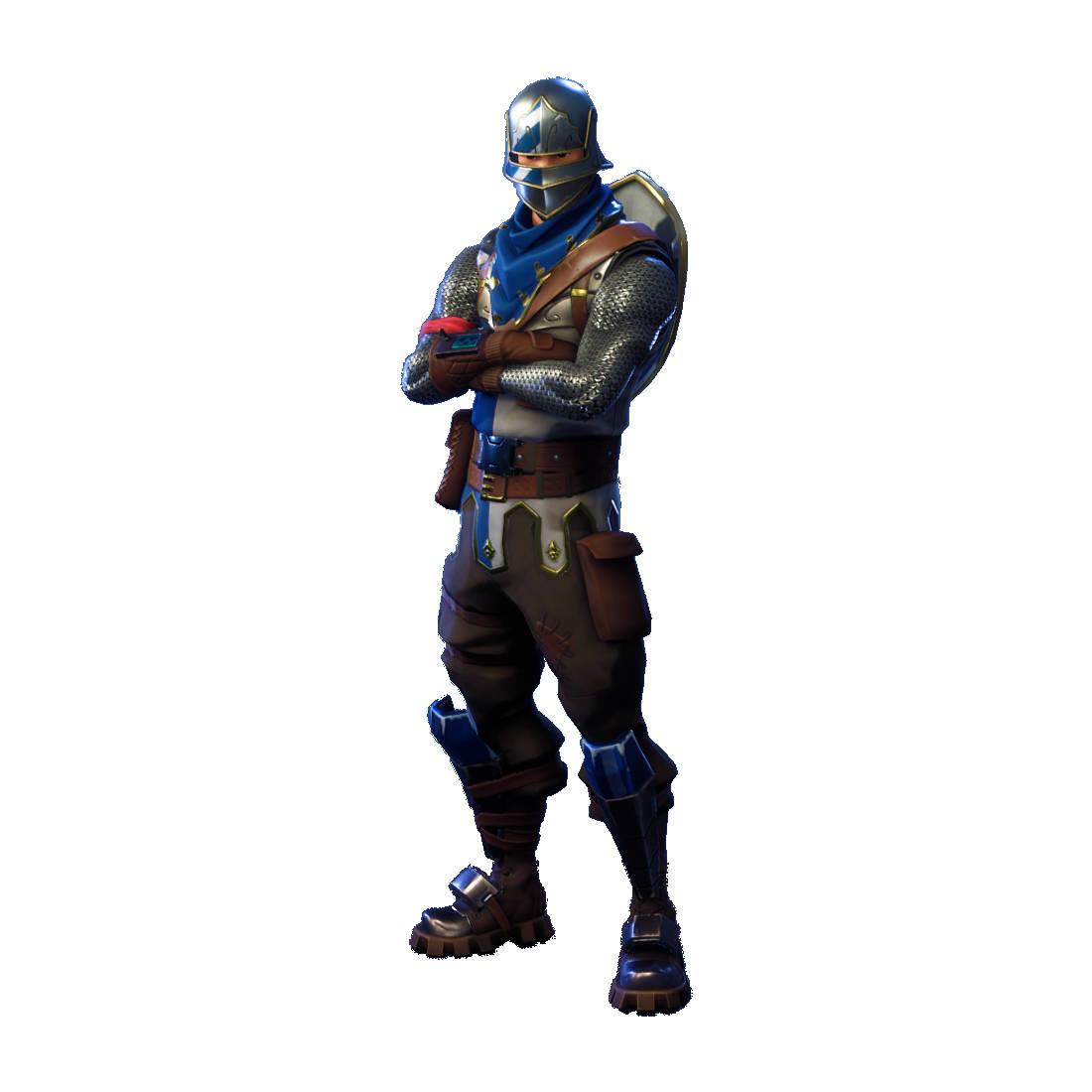 Fortnite Blue Squire Character Skin Sticker