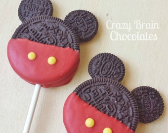 Mouse Oreo Pops (12)