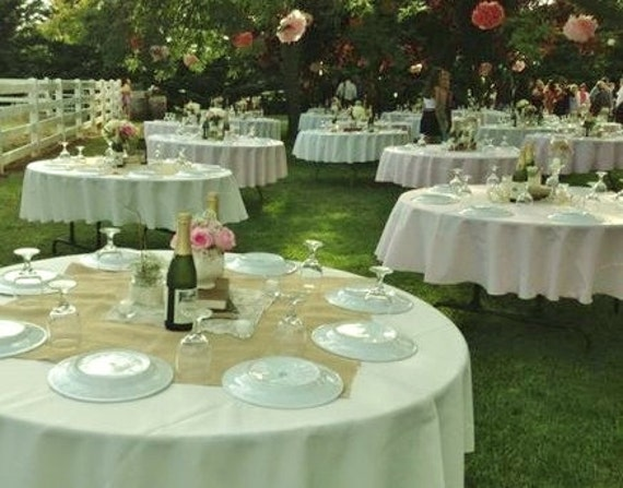 Burlap Table Toppers Burlap Table Decor Burlap Wedding
