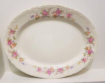 Homer Laughlin China - Serving Platter - Vintage Dinnerware