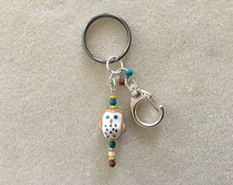 Ladies Large Owl Keychain.