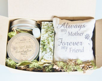 Gift for Mom, Mother's Day Gift Set - Botanically Infused Natural Body Care with Scented Sachet 6 pc. Deluxe Set