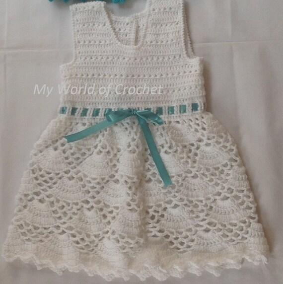 Crochet Baby Frock baby girl frock pattern Dress baby girl