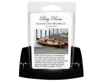 BAY RUM Soy Melts // Wax Tarts // Soy Tarts // Candle Tarts // Melting Tarts // Scented Tarts // Dye Free