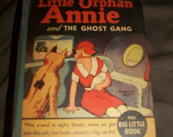 Big Little Book Little Orphan Annie and the Ghost Gang #1154