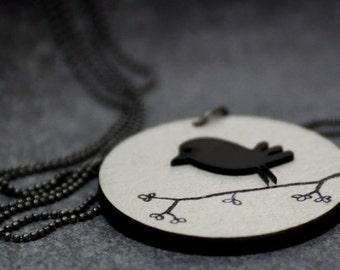The cute bird necklace