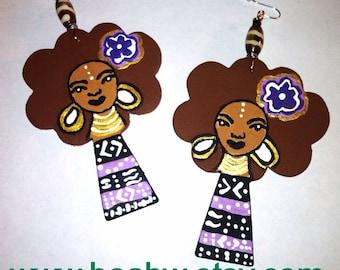 Brown Sugar Baby Earrings