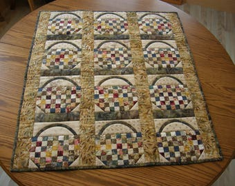 Quilted Table Topper / Tablecloth / Wall Hanging