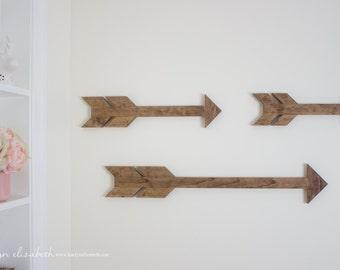 Boho Wooden Arrows (set of 3)