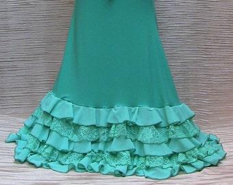 Complete Baile Flamenco Color aquamarine