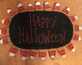 Happy Halloween Table Mat