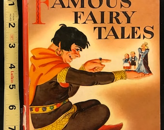 Famous Fairy Tales - Wonder Book #505; 1946; Adapted by Eleanor Graham; Illustrated by Mervin Jules