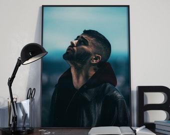 Zayn Malik Poster, One Direction Poster, Zayn Photograph, Zayn Home Decor, Zayn Malik Art, Wall Art, 1D Print, Dusk till dawn, Malik 93