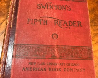 1883 Swinton's Fifth Reader