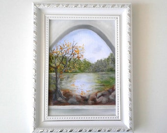 Reflections - original oil painting