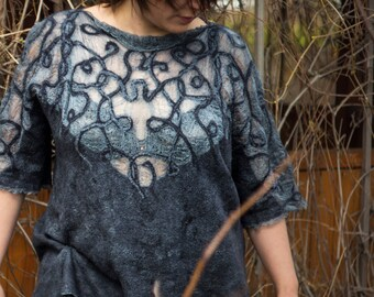 Felted tunic
