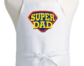 Super Dad Cooking Aprons For Men Novelty Apron Gift Idea