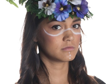 Floral headpiece with Bullet Casings