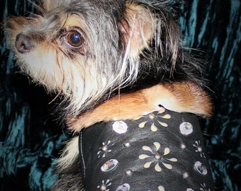 Leather Dog Vest