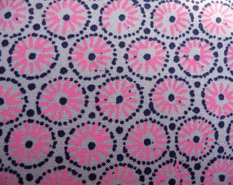 "Victoria & Albert Museum Geometric ""Cycle""  Printed100% Cotton Fabric"
