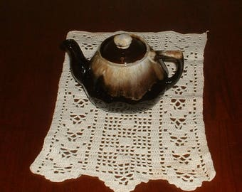 Vintage One Cup Brown Drip Teapot       Made in Japan
