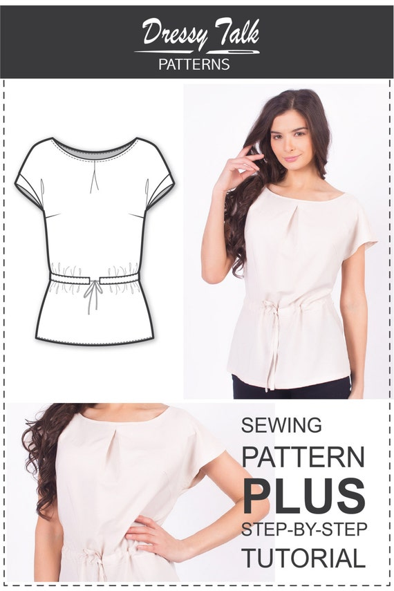 Blouse Patterns Sewing Patterns Easy Sewing Projects