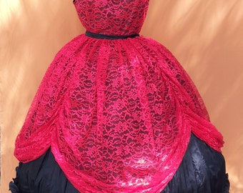 Civil War Costume Ball Gown