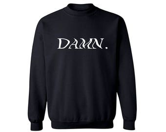 DAMN WAVY Crewneck Sweater