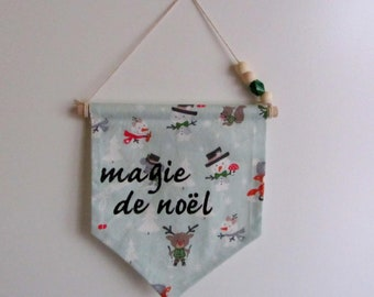 Magic of Christmas decorative banner
