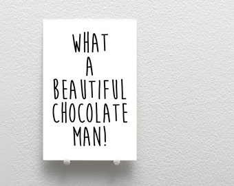 White Chicks Quote Card, Valentine's Day Greeting Card, Love Greeting Card, Valentine's Day Card, Relationship Love Greeting Card, Chocolate